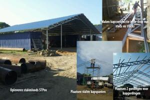 Project Maken stalen loods STPnv Saramacca